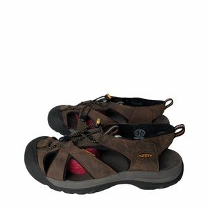 Keen Venice Brown Leather Hiking Sandals